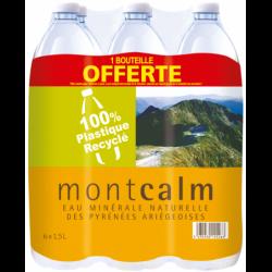 Eau Montcalm 1,5 L X 6 dont...