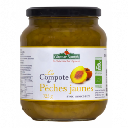 Compote Pêche Jaune 725 g