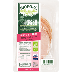 Bacon 10 tranches 100 g