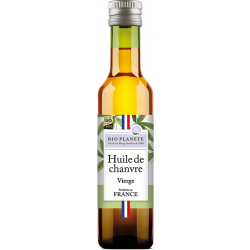 Huile chanvre vierge 25 cl