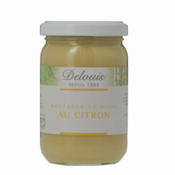 Moutarde Forte Citron 200 g