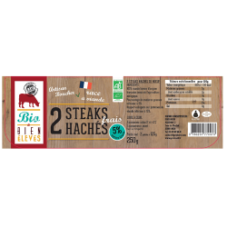 Steak Haché De Boeuf 5 %...
