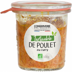 Tartinable de poulet rôti...