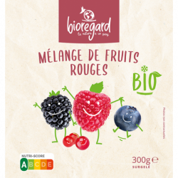 Mélange de fruits rouges...