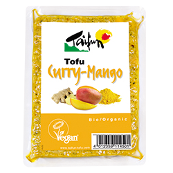 Tofu au curry et à la...