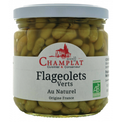 Flageolets Verts Au Naturel...