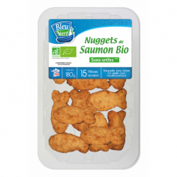 Nuggets de saumon bio 180 g
