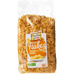 Corn flakes sucre de canne...