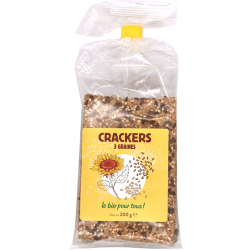 Crackers 3 graines 200 g