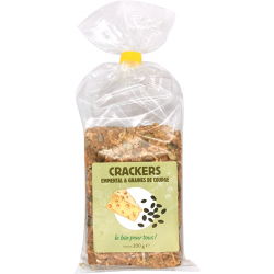 Crackers emmental courge 200 g