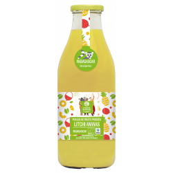 Jus ananas litchi 75 cl